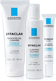 La Roche-Posay Effaclar Dermatological Acne Treatment System, 2-Month Supply