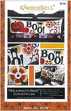 Kimberbell Halloween Boo! Bench Pillow Pattern