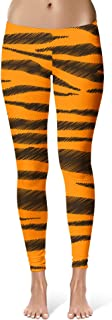 Rainbow Rules Tigger Stripes Winnie The Pooh Inspired Sport Leggings - Full Length, Mid/High Waist