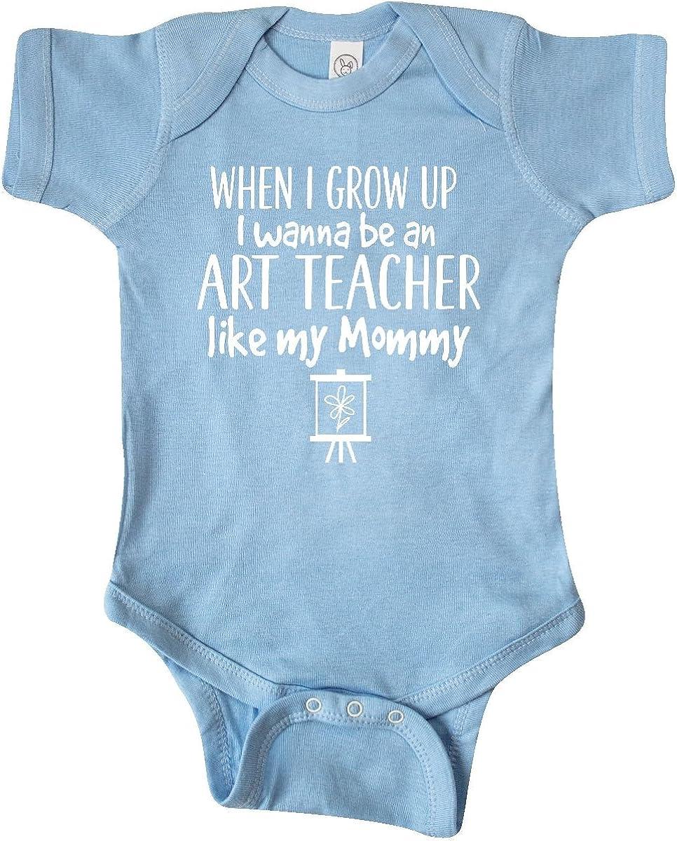 inktastic Future Art Sale price Teacher Mommy Large-scale sale Creeper Infant Like