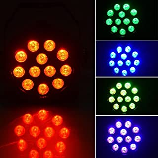 XPC Led Par uplighting Par Wall Wash Wedding DJ Up Light RGBW Color Mixing Can Lamp for KTV Bar Pub Dance (3IN1 1PCS)