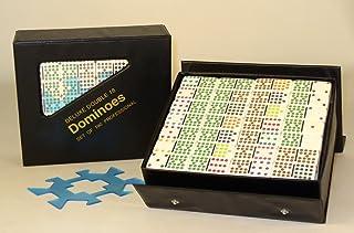 Hansen Deluxe Double 18 Dominoes Game