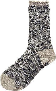(エムアンドエム) M&M HOME 職人さんが作った靴下 やわらかコットン 渋カラー撚り杢 ソックス 日本製