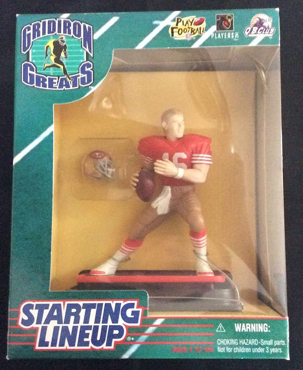 1997 NFL Starting Lineup Gridiron Greats  Joe Montana  San Francisco 49ers by Starting Line Up