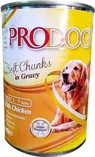 PRODOG Wet Food For Dogs Soft Chunks in Gravy Chicken - 415g