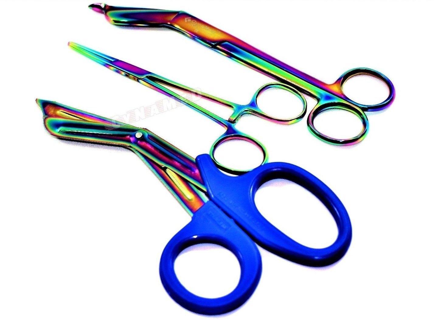 Premium SALENEW very popular Multi Titanium Lister Bandage St Plus inch 7.25 Regular store Scissors