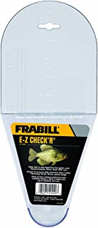 Frabill EZ Crappie Check'R Fish Measurer | Easy to Use Quick and Accurate Measurement | Measures Crappie Up to 12""