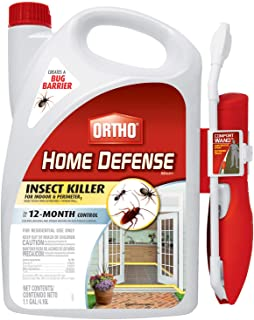 Ortho Home Defense MAX Insect Killer for Indoor & Perimeter1 with Comfort Wand - Kills Ants, Cockroaches, Spiders, Fleas, ...