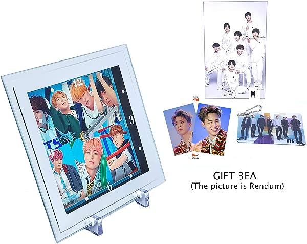 BIG HIT 娱乐 BTS 装饰钟 BTS 时钟