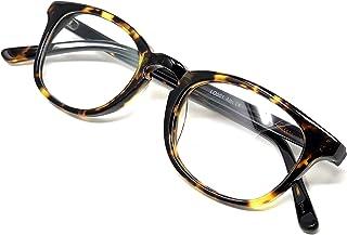 LOOSE LEAF Albi Prescription Ready Frame Optical Eyeglasses in Clear Lens for Men and Women