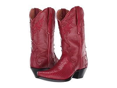 Dan Post Arianna (Red Lizard) Cowboy Boots