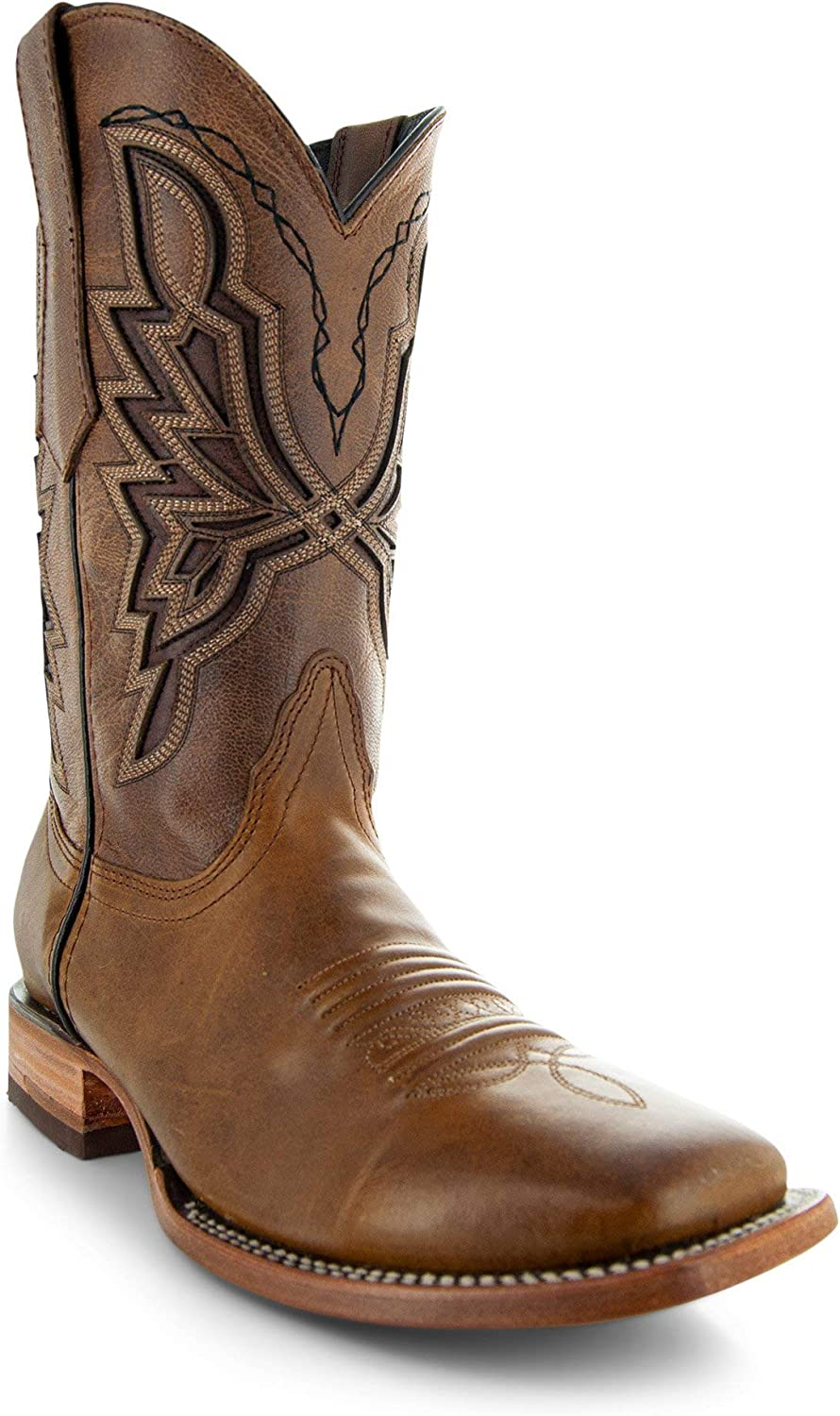 Soto Boots Men's Broad H50028 Square Import Same day shipping Cowboy Toe