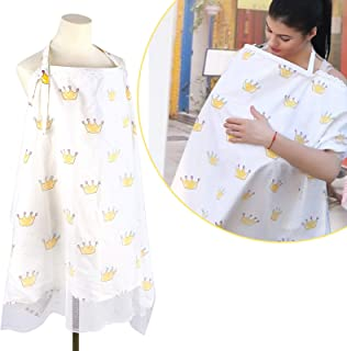 Cunina Nursing Cover for Baby Breastfeeding, Anti-Mosquito Sun Protection Anti-Flying Sand Mother Nursing Apron for Infant...