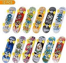 TIME4DEALS Mini Fingerboard Finger Skateboards Toy 12 PCS Professional Fingerboards..