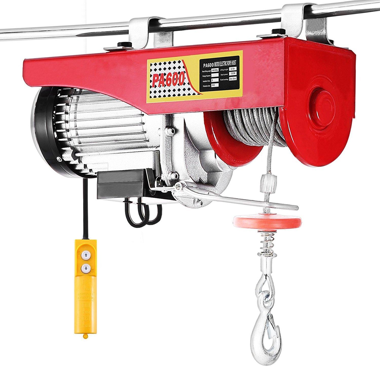 Tecmaqui Polipasto Eléctrico 1320LBS 600KG Elevador eléctrico 220V ...