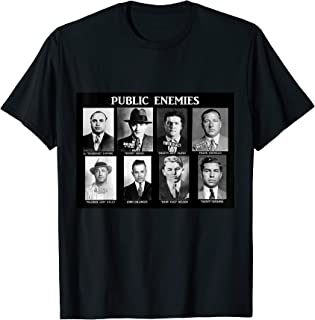 Public Enemies Wanted Dead Or Alive Mobsters Gangsters