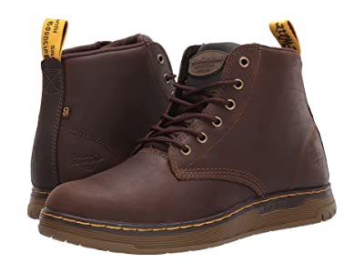 Dr. Martens Work Ledger Steel Toe SD (Dark Brown/Dark Brown/Dark Brown/Dark Brown) Men