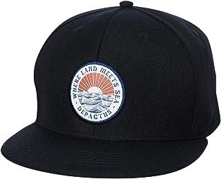 Depactus Men's Open Sea Snapback Cap Black