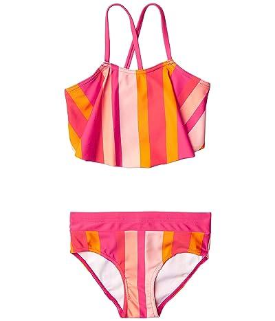 reima Bikinis Honolulu (Toddler/Little Kids/Big Kids) (Berry Pink) Girl