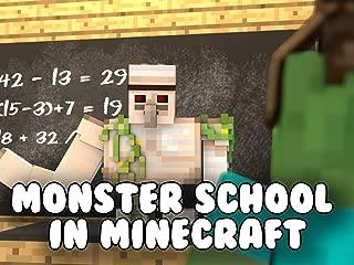 Monster School in Minecraft