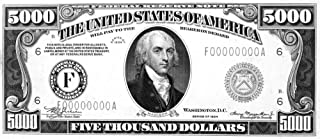 Currency 5000 Dollar Bill Npresident James Madison On The Front Of A US Five Thousand Dollar Note 1934 Poster Print by (18 x 24)