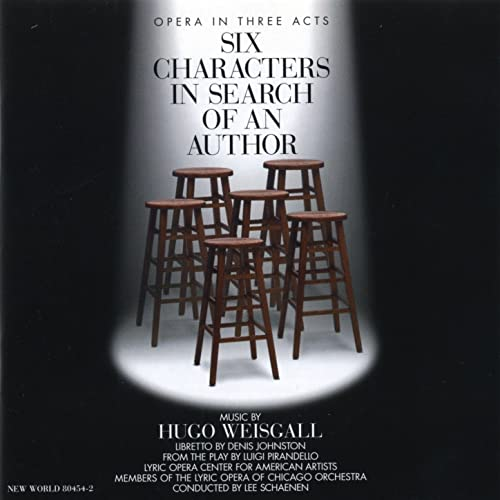 Hugo Weisgall: Six Characters in Search of an Author di Lyric Opera Center  for American Artists su Amazon Music - Amazon.it
