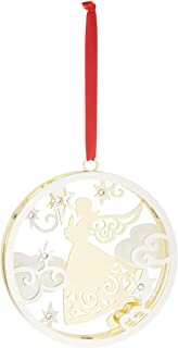 Lenox 877844 Stamped Angel Ornament