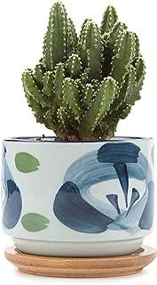 Ceramic Japanese Style Serial Succulent Planter Plant Pot Cactus Bonsai Pot Flower Pot Container Garden Decoration,Type06