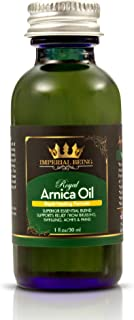 ROYAL ARNICA OIL - Rapid Healing Formula by IMPERIAL BEING - Super Premium Organic Herbal Blend with Essential Oils for Natural Pain Relief, Trauma, Bruise Care, Massage, Muscle Soreness & Aches (1oz)