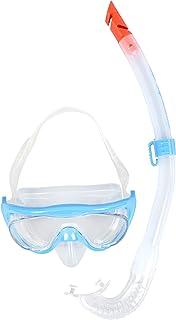 Speedo Glide Junior Snorkel Set Juego de Buceo, Unisex niños