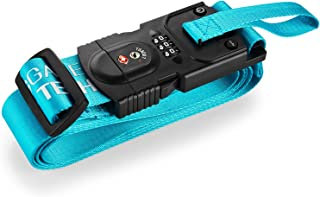 SmartSTRAP Luggage Strap with Scale (Blue)