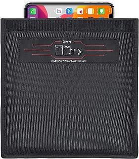 WHonor Faraday Taschen für Handys, RFID Signalblockiertasche für Handy, Geräteabschirmung für Reisen & Datensicherheit & Privatsphäre, Anti Hacking & Anti Verfolgung & Anti Spionage Sicherheit