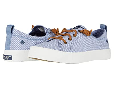 Sperry Crest Vibe Mini Check (Blue/White) Women