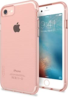 Skech Matrix Shockproof Protective Transparent Case Cover for iPhone 7 (6/6s Compatible) -Rose Gold