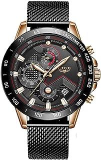 Men Watches Brand Luxury Chronograph Male Quartz Watch Men Stainless Steel Waterproof 30M Sport Fashion Watch