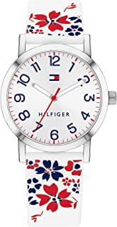 Tommy Hilfiger Women'S White Dial Multiple Color Silicone Watch - 1782173
