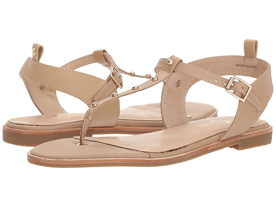 Yosi Samra Calliste (Camel/Gold Studs Nappa Leather) Women