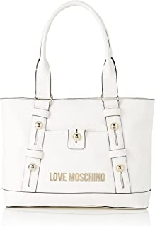 Love Moschino SS21 Damen Schultertasche Frühling Sommer 2021 Weiß Normal