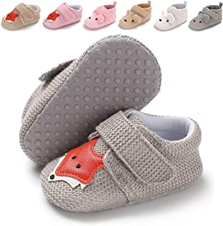 Infant Baby Boys Girls Slippers Non Slip Soft Sole Booties Baby Socks Newborn Moccasin First Walking Crib Shoes