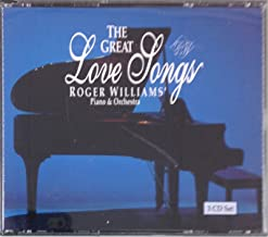 Roger Williams Piano & Orchestra: The Great Love Songs