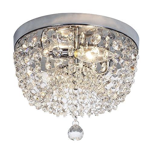 new product 70533 cc623 Single Chandelier Bathroom Light Fixtures: Amazon.com