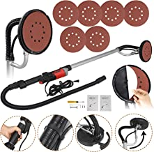 ZENY 800W Electric Drywall Sander Adjustable Variable Speed w/ 6 Sand Pads