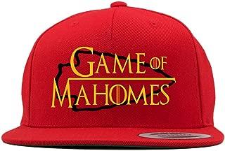 RED Snapback Kansas City Mahomes Game of Hat