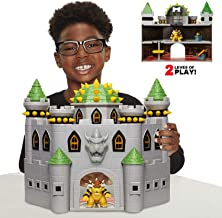 Nintendo Bowser's Castle Super Mario Deluxe Bowser's Castle Playset with 2.5