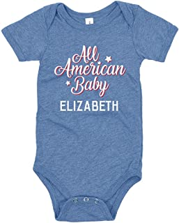 All American Baby Elizabeth: Infant Triblend Bodysuit