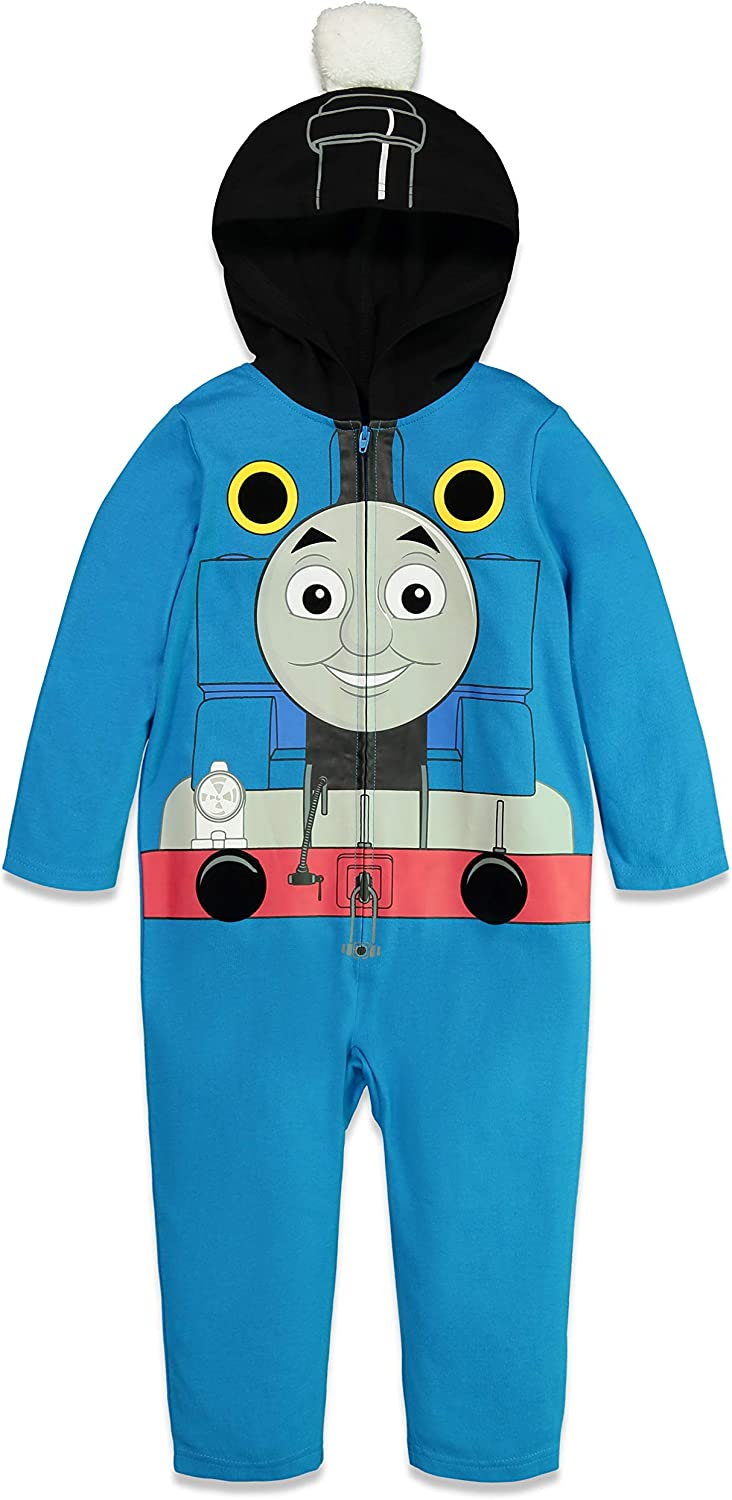 Thomas Friends Zip-Up Coverall Popular brand Hooded Costume Rapid rise