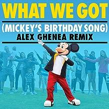 What We Got (Mickey's Birthday Song) (Alex Ghenea Remix)