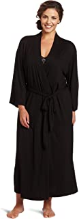 Women's Plus Size Shangri-la Solid Knit Robe