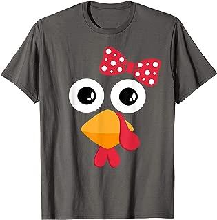 Turkey Face Trot Shirt Cute Thanksgiving Running Gift