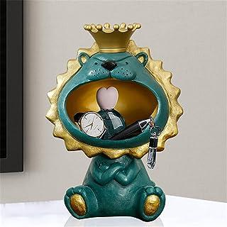 CHENSHJI Rangement pour clés de bonbonnière Creative Big Bouche Lion Hall Hall Hall Stockage Armoire Armoire Cabinet TV Dé...